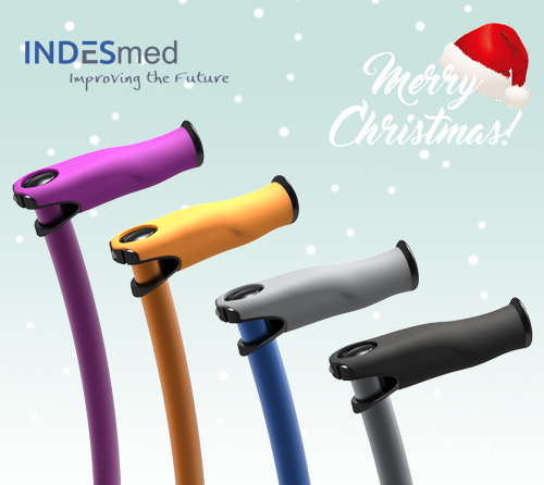 colored canes and crutches, the best christmas gift