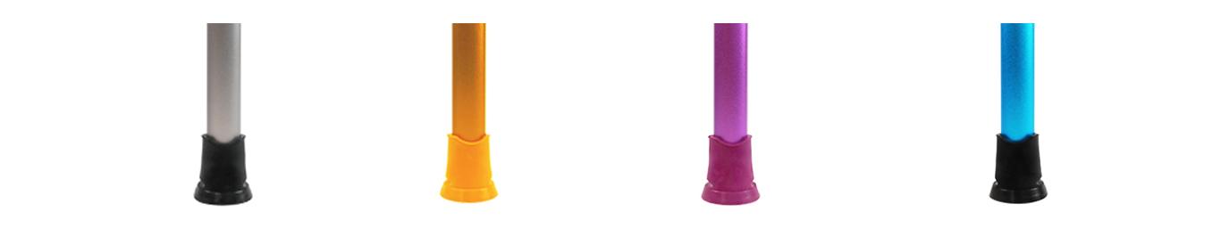 Zubehör - Rutschfeste Kapseln für Krücken ohne Belastung