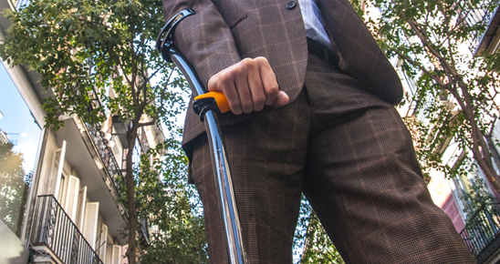 Walking aids: Crutches
