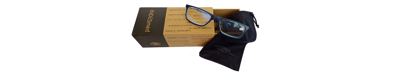 Reading glasses blue light with an amazing packaging