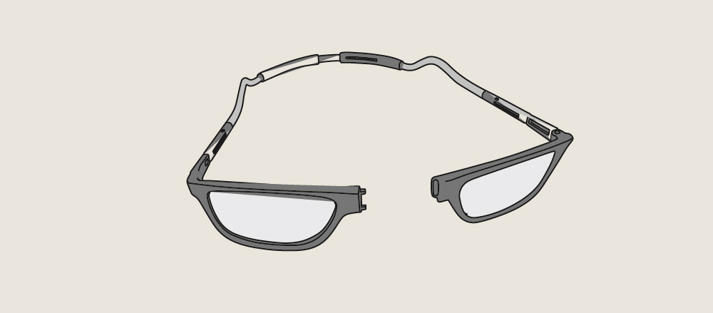 Eyewear: costumizable and adjustable
