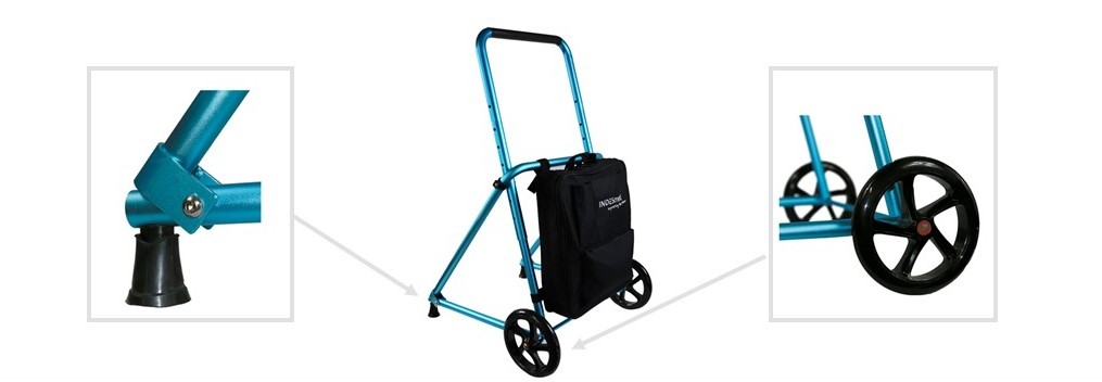 Walkers with wheels  medical walker keeps wrists' natural position assuring you will not suffer from tendinitis or any other pain on your hands, wrists, arms, and shoulders