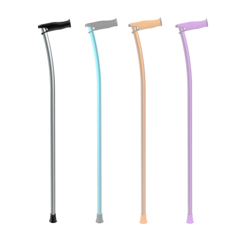 Canes for elderly in different colors
